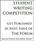 Student Writing Competition
