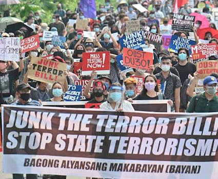 The Philippines' Anti-Terrorism Act: A Permission Slip for Human Rights Violations